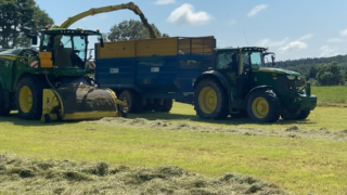 'Real time silage analysis from John Deere'