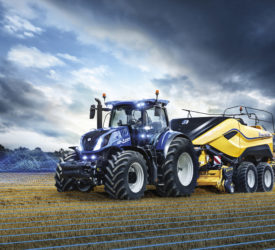 New Holland embeds the tractor in the digital matrix