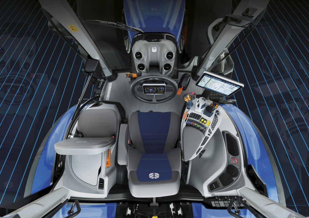 new holland new cab interior