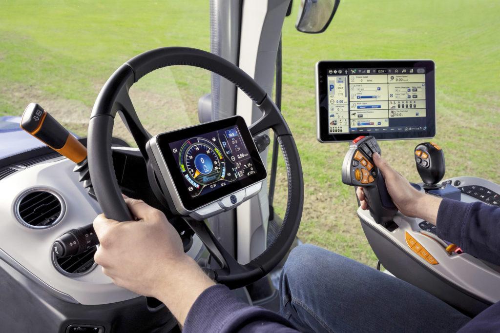 steering wheel mounted instrument display