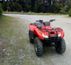 Honda quad stolen in overnight raid in midlands