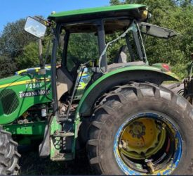 'Extensive criminal damage' done to 2 tractors