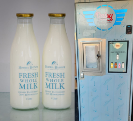 Boora Bainne: Farmer goes the vending machine route in Offaly