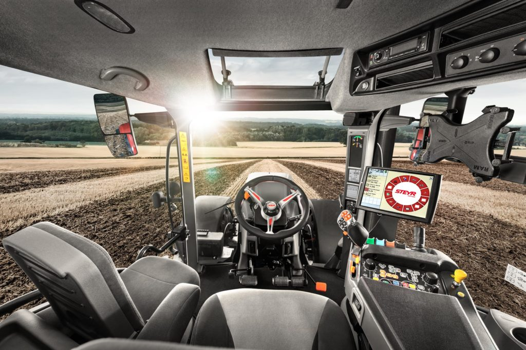 Stery cab with MySteyr