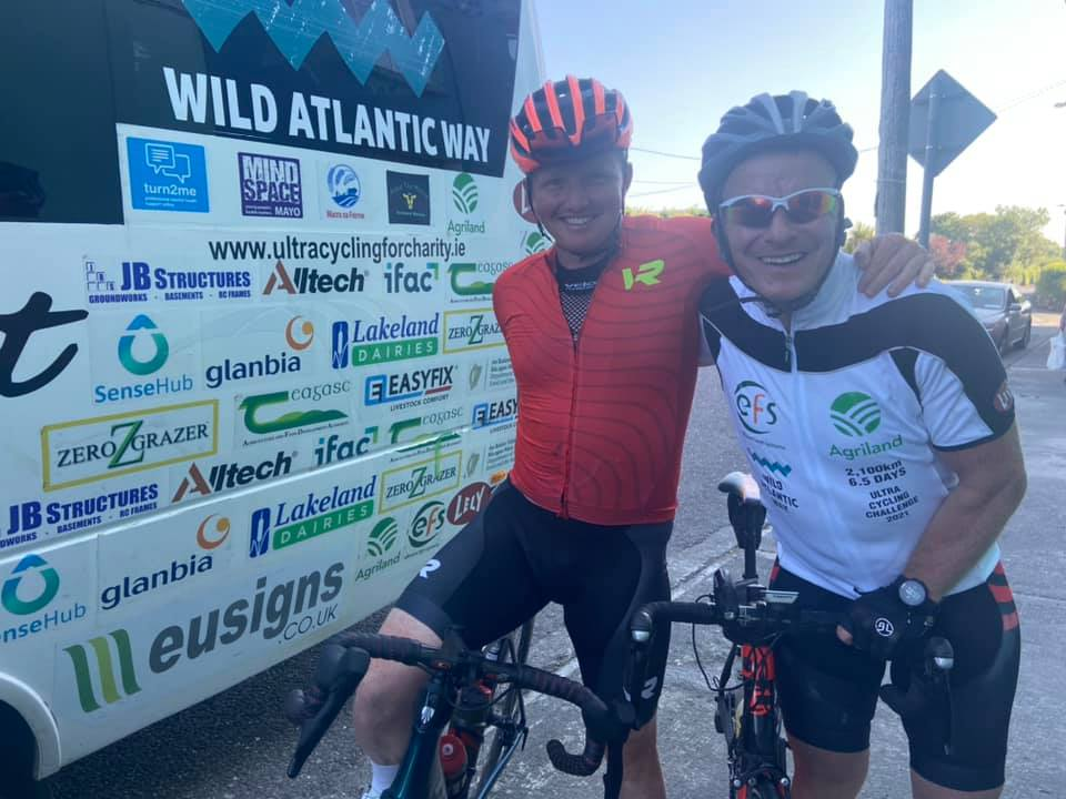 Agri ultra cycle: Video – €18,000 raised so far as team tackles Kerry