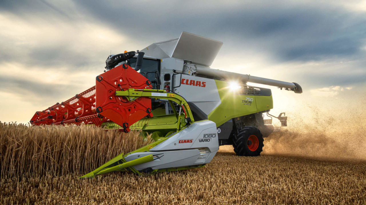 Claas refreshes its mid-sized combines