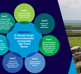 10% biogenic methane reduction – one of many agri-specific aims of new food strategy