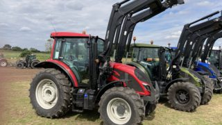 The new A series Valtra tractors at Doncaster launch