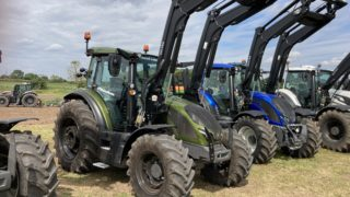 The new G series Valtra tractors at Doncaster launch
