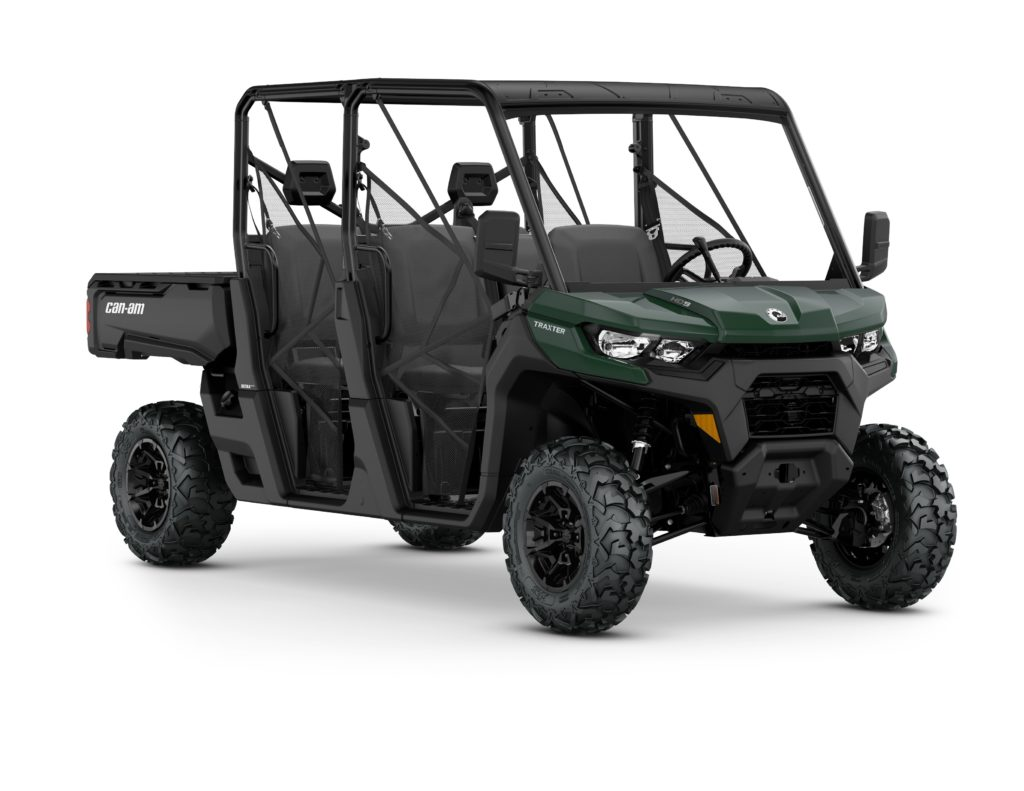 Can-Am Traxter powered by HD9