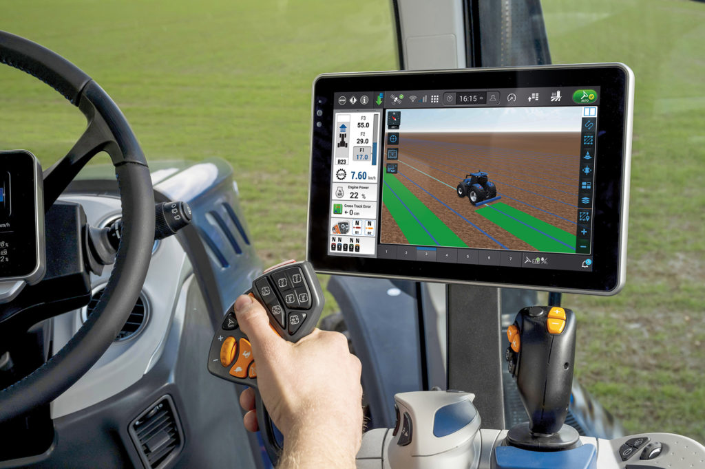 Technology in New Holland