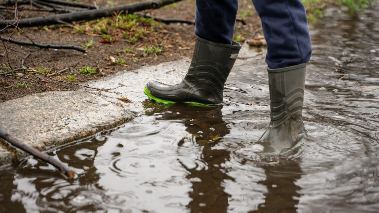 Rain warnings issued for western counties
