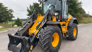Loaders, jets and trucks at JCB auction