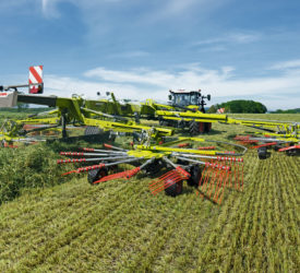 Claas launches new line of Liner rakes