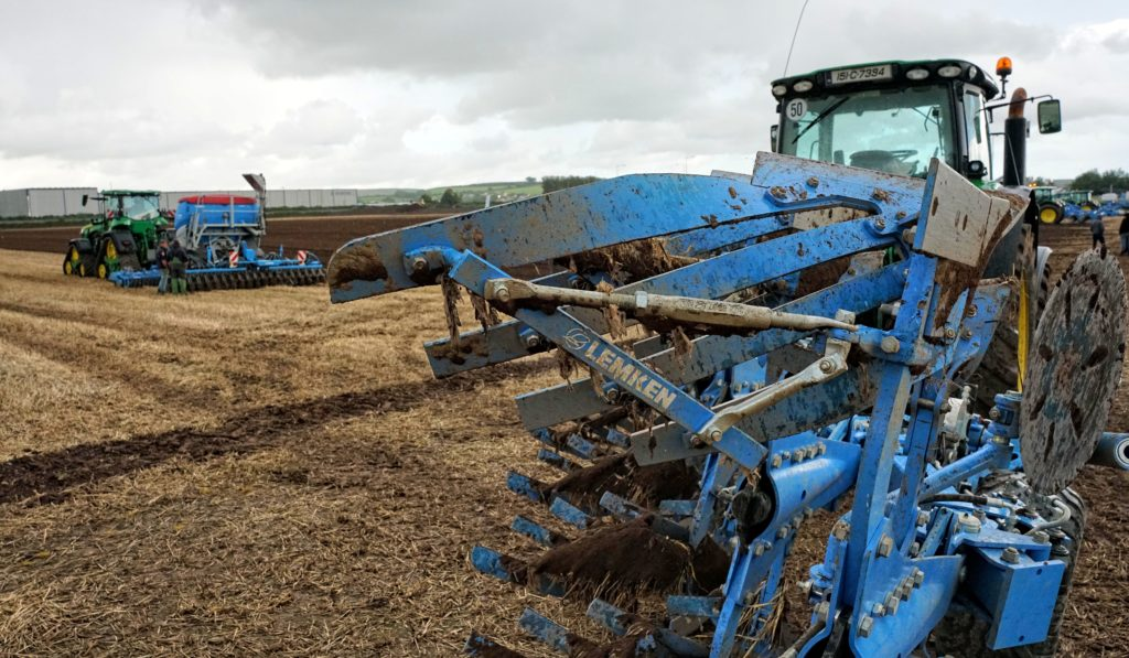 Plough and combination drill system Lemken