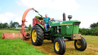 Video: Araglin classic silage day sees tractors come from far and wide