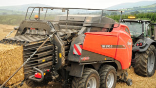 Machinery Focus: Video – Kuhn split plunger baler in operation