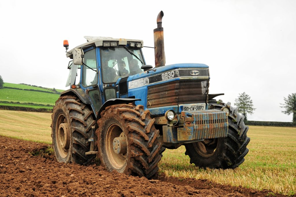 Ford 8830 before New Holland