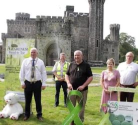 'Green Ribbon' mental health campaign supported by dairy farmer