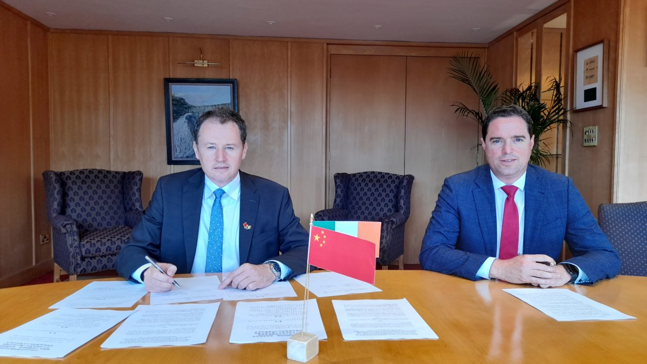 Protocols signed for sheepmeat and breeding pig access to China