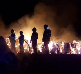 Gardaí investigating bale fire in north Dublin