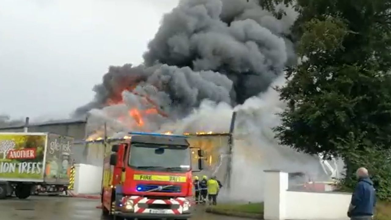 Glenisk plant fire 'a huge blow' for organic dairy sector