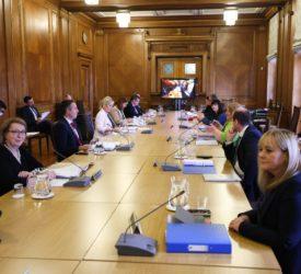 Poots hopes Lord Deben can sway Executive on NI carbon targets