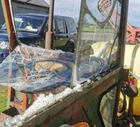 Tractor and clubhouse vandalised at Roscommon GAA club