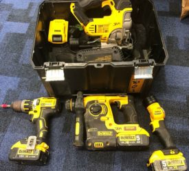 Woman charged after stolen power tools recovered