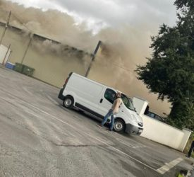 Emergency services respond to 'serious' fire at Glenisk plant