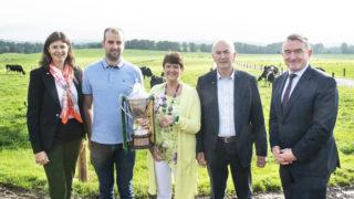 来自利默里克的麦卡锡家族赢得了NDC & Kerrygold牛奶品质奖
