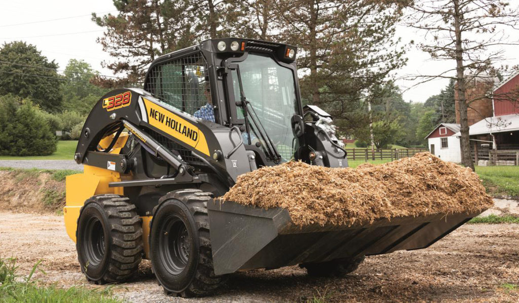 machinery sales increased for CNH