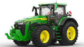 John Deere promotes rapid tyre inflation and deflation