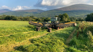 Tanco's trailed mowers at work in Tipperary