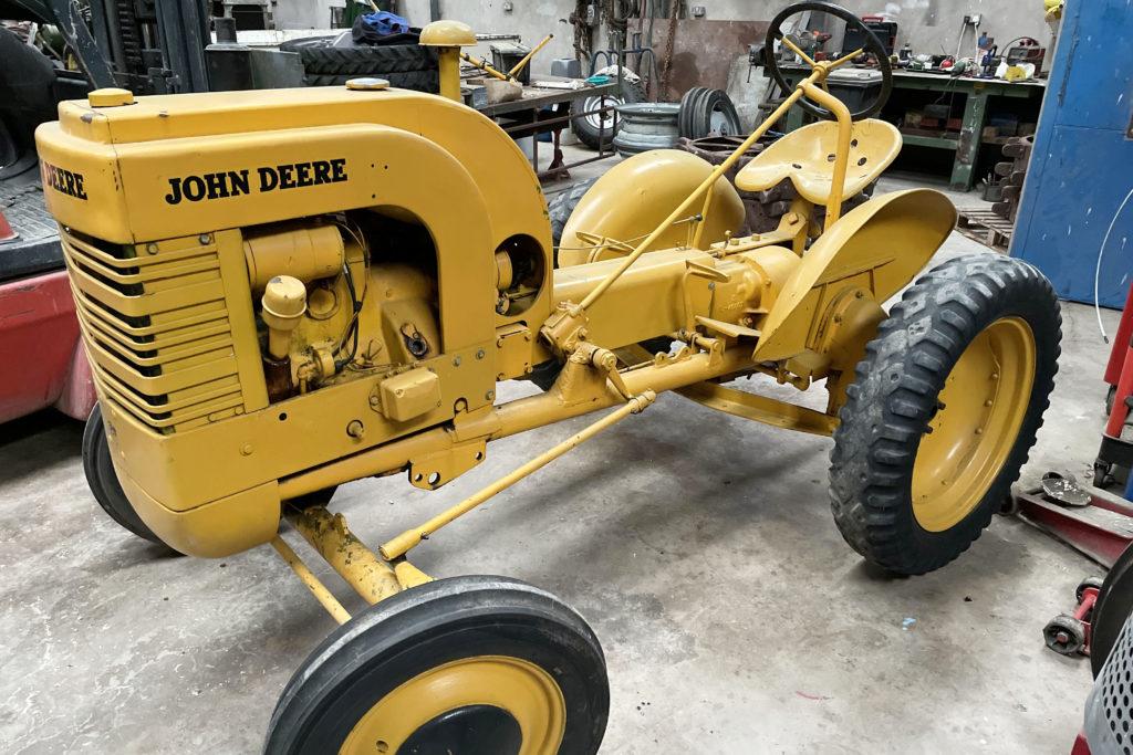 John Deere LI industrial tractor art deco legacy