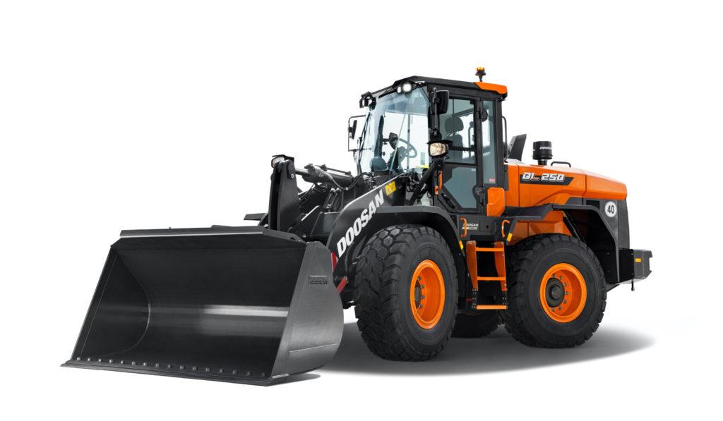 Doosan loaders smooth hydraulics