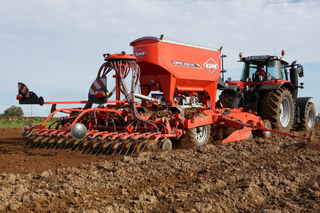 Kuhn Espro coulters plough