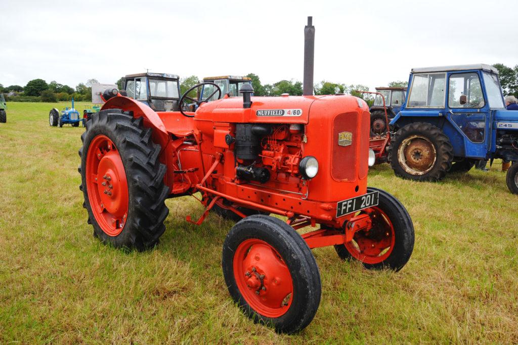 Nuffield tractor originally built by Morris Motors