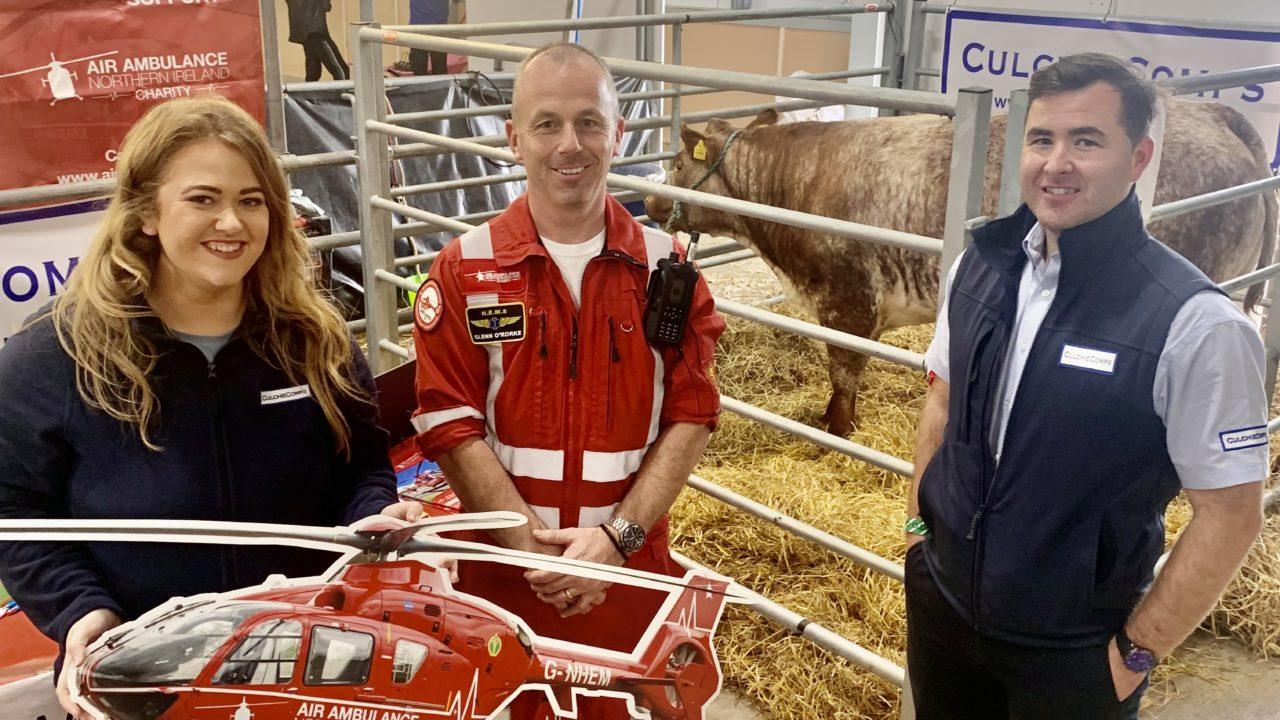 1,500 support heifer 'Hope' and Air Ambulance NI fundraiser at Balmoral Show