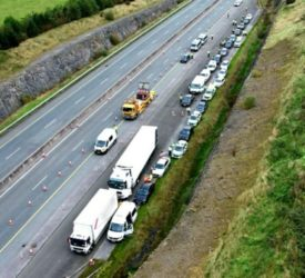 7 'green' drivers stopped and fined on M7 in one day