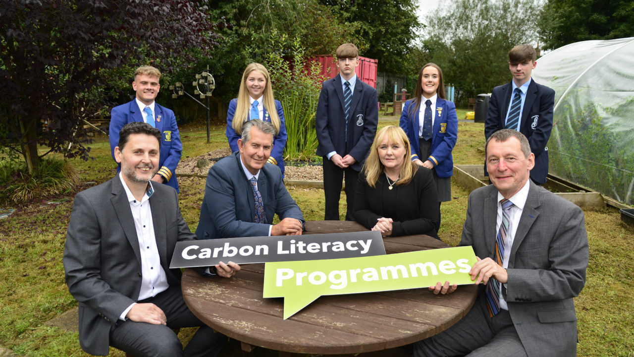 Poots invests in NI 'climate literacy' project ahead of COP26