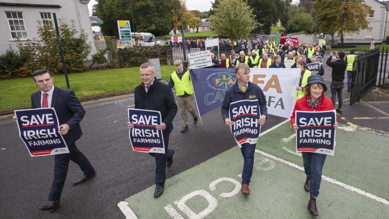 Farmers gather in Cavan for start of day of IFA rallies