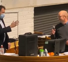 Video: Minister and IFA butt heads in Kilkenny