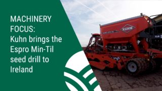 Kuhn brings the Espro Min-Til seed drill to Ireland