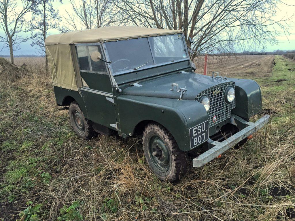 Land Rover 80 inch aluminium
