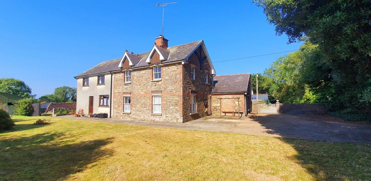 Unique 28ac coastal holding with period house hits market