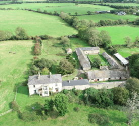 132ac Wexford farm with period house for online auction