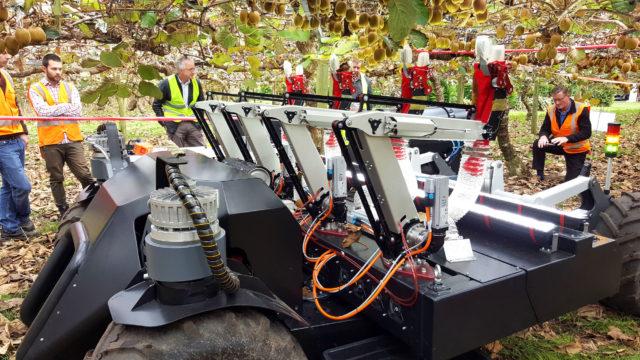 雅马哈公司将机器人技术应用到野外