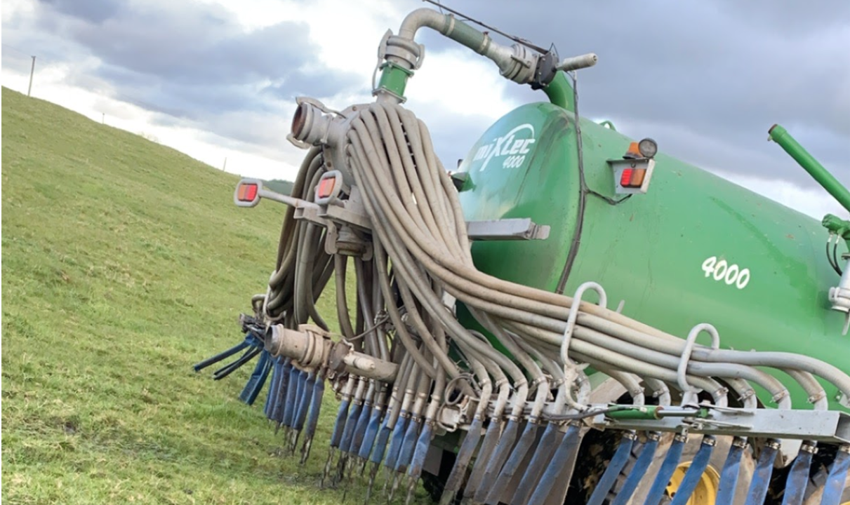 Slurry deadline: Less than one week left for spreading